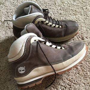 Timberlands ACT Brown size 8